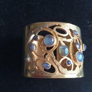 Julie collection labradorite cuff bracelet